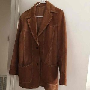 6a493771053 ... PIONEER WEAR BROWN GINUINE LEATHER JACKET ...